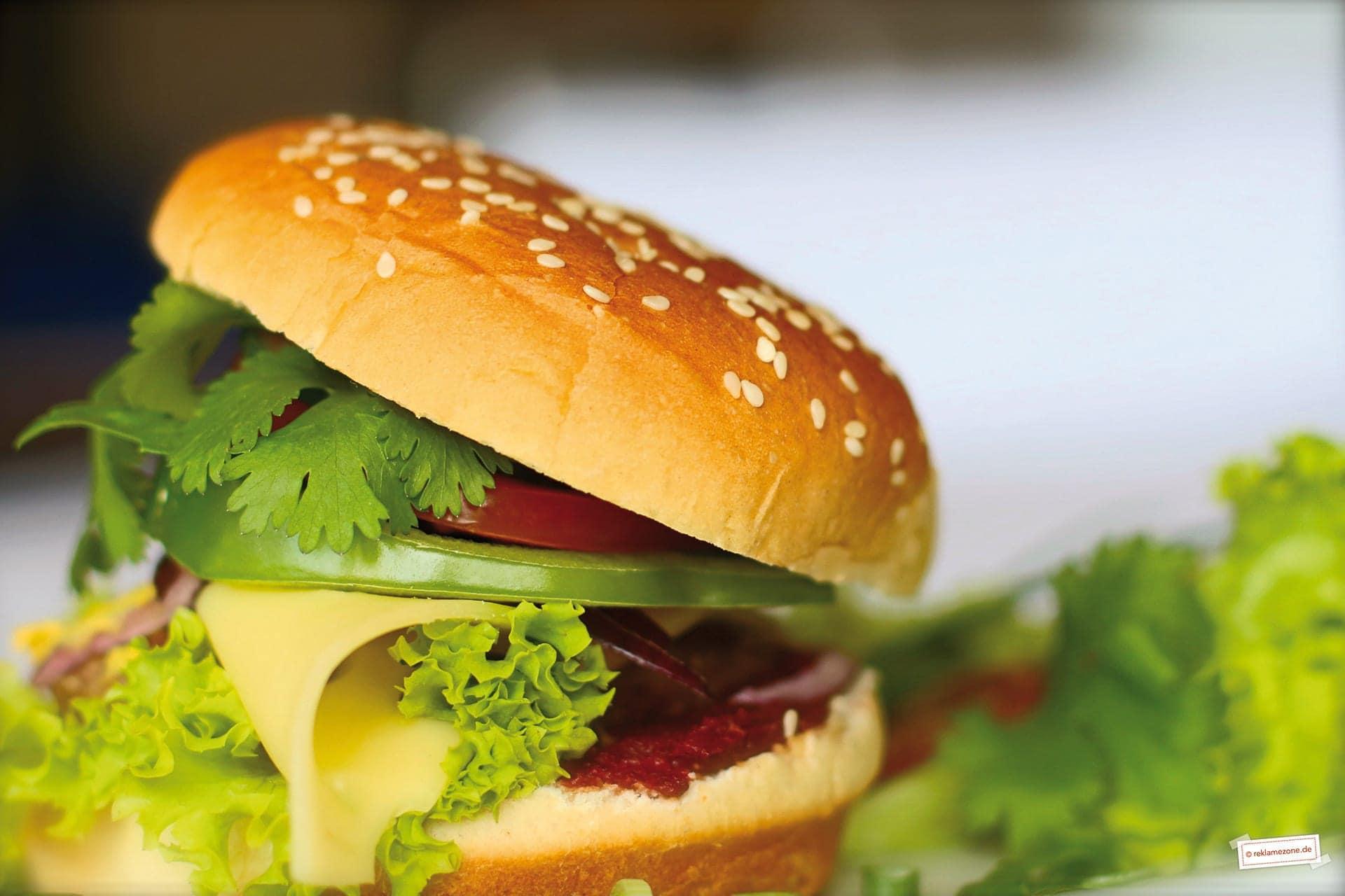 Burger, einfach und schnell. Foto: reklamezone.de