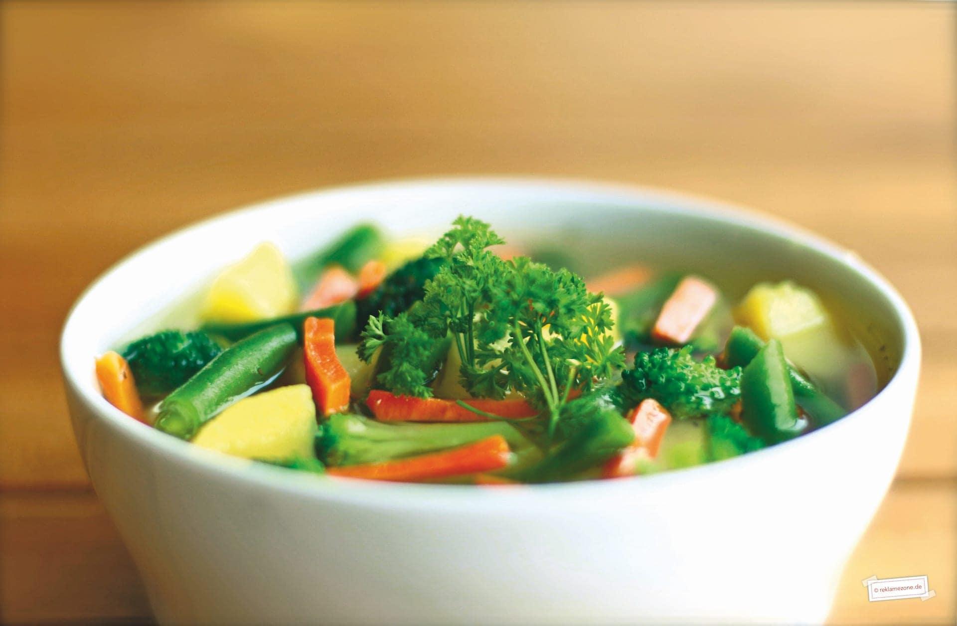 Gemüsesuppe, einfach und schnell - Foto: reklamezone.de