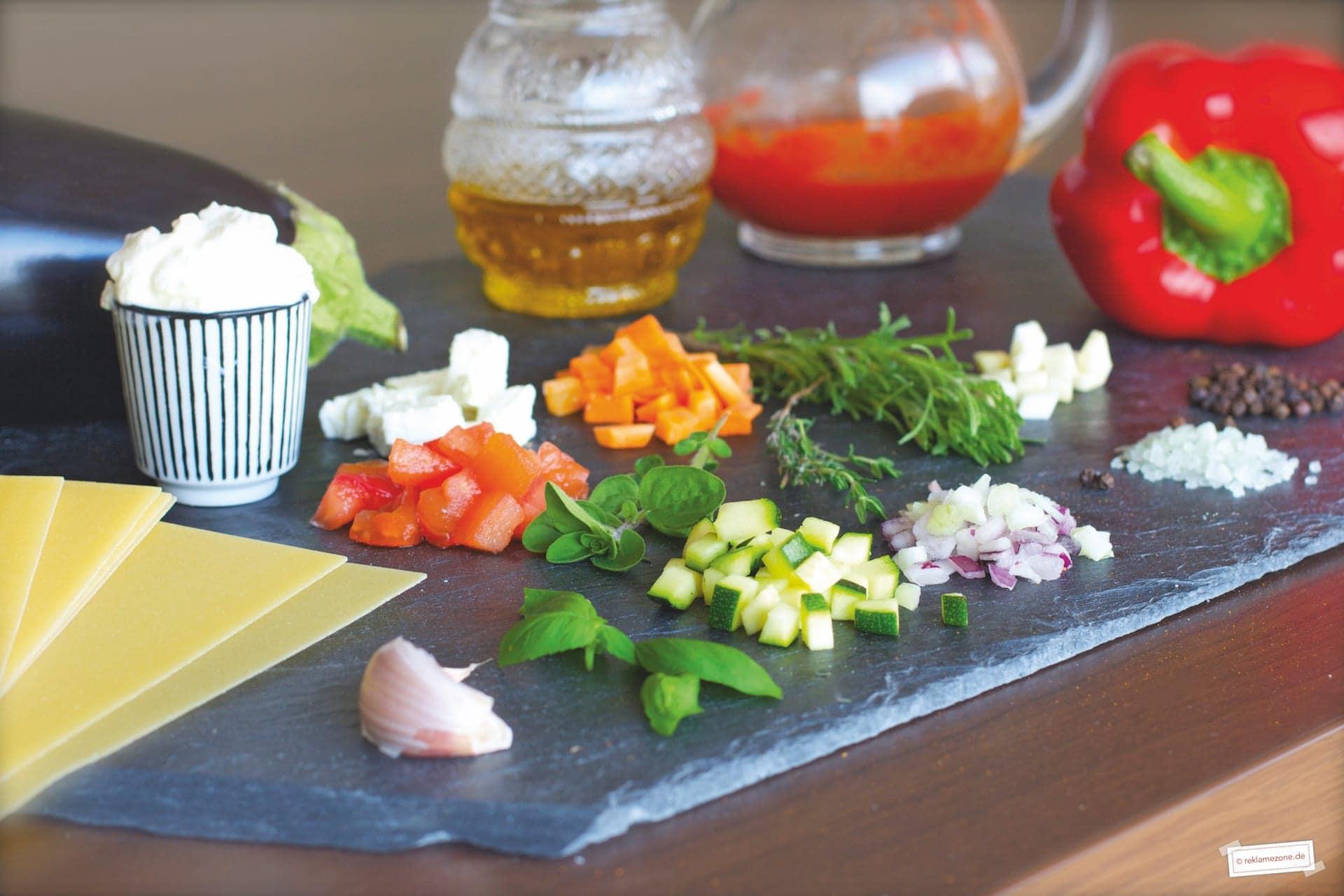 Nudeln, Lasagne - Foto: reklamezone.de
