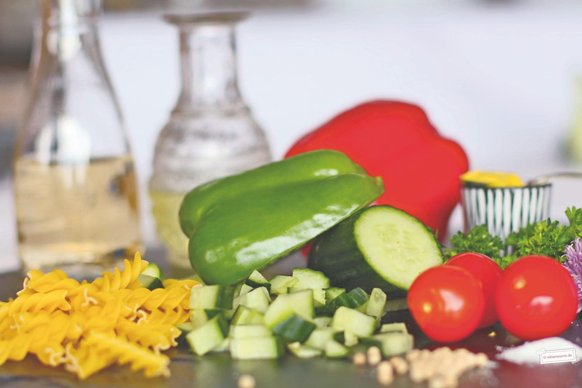 Nudelsalat, einfach und schnell - Foto: reklamezone.de