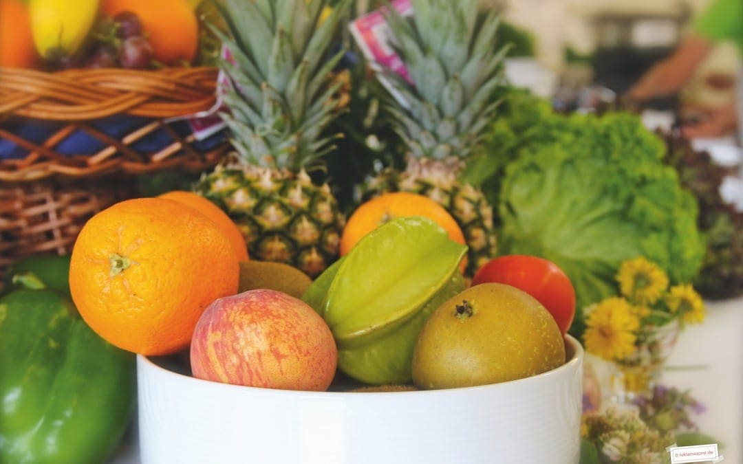 Früchtetraum mit Knusperhaube