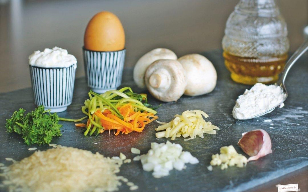 Reisgerichte, Reisfrikadellen