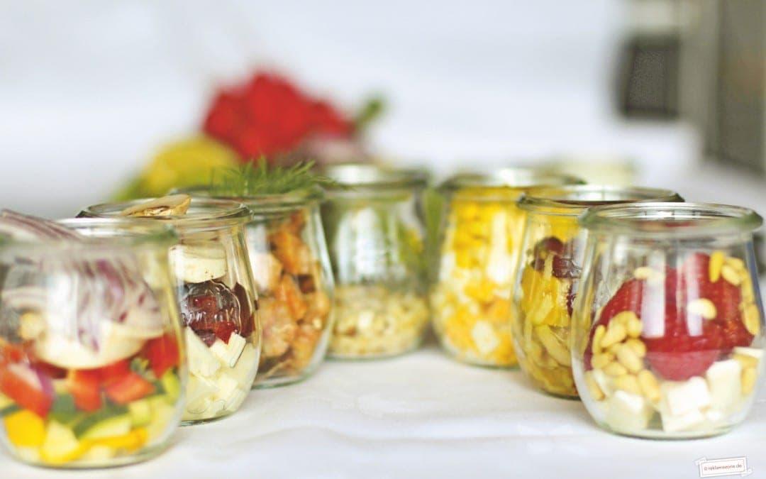 Salat, Topping-Vielfalt