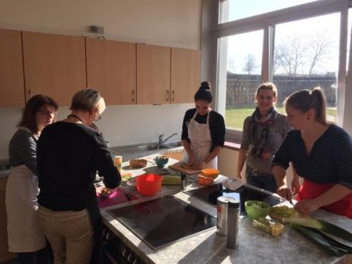 So war das Kochevent am 21.02.2019 am Gymnasium am Stadtgarten in Saarlouis